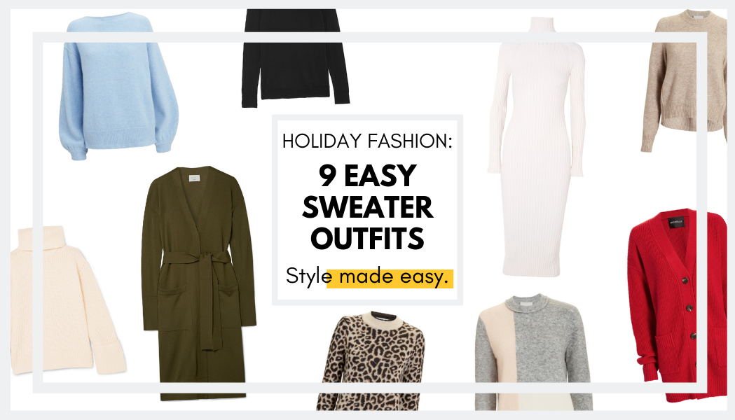 9 Sweater Outfits Perfect for Holiday Festivities