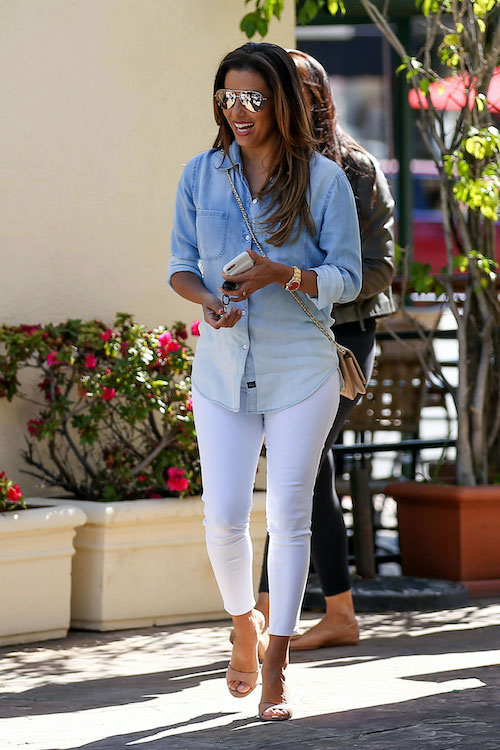 white-denim-chambray-shirt