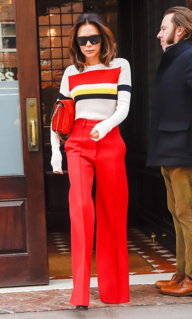 Victoria-Beckham-Style-red-pants