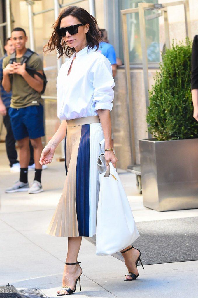 victoria-beckham-pleated-skirt